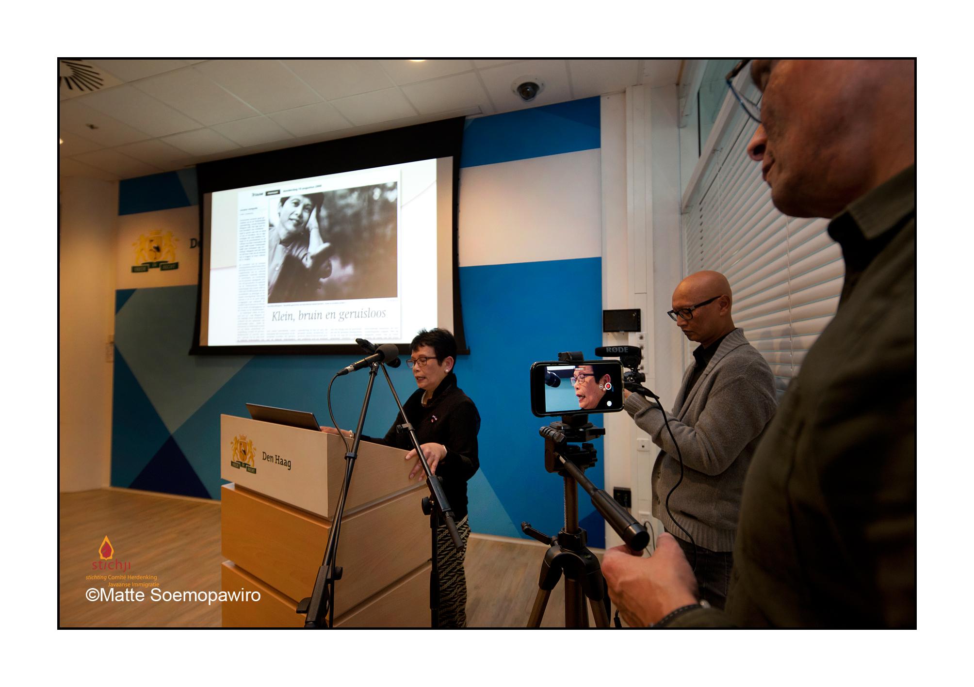 Overdracht JIP archieven en opening tentoonstelling Haags Gemeentearchief